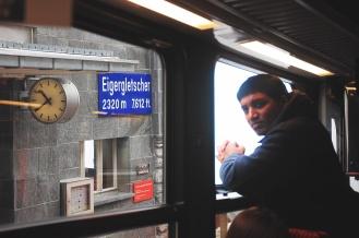 Jungfrau Railways train - renjanatuju.com